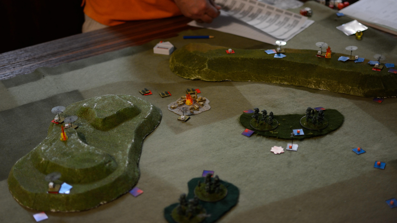 Hind Commander Battle Report 1