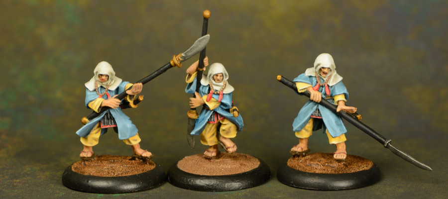 Sohei - 3x Warrior Monks 1
