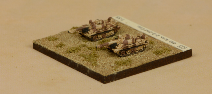 3mm Egyptian T-55 Armoured Brigade 1