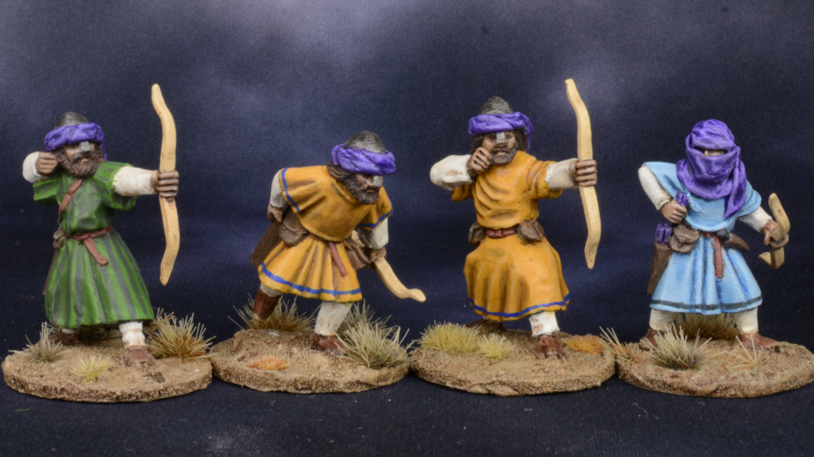 28mm Middle Eastern Archers 1