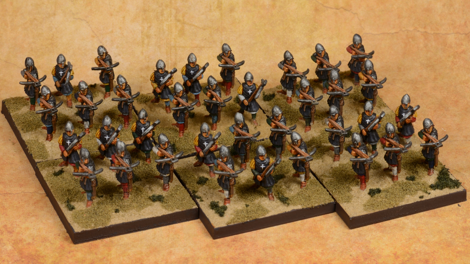Hospitaller Sergeants  with Crossbow 31