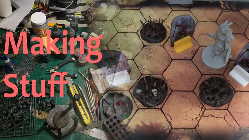 Making Stuff: Gloomhaven Damage Traps 1