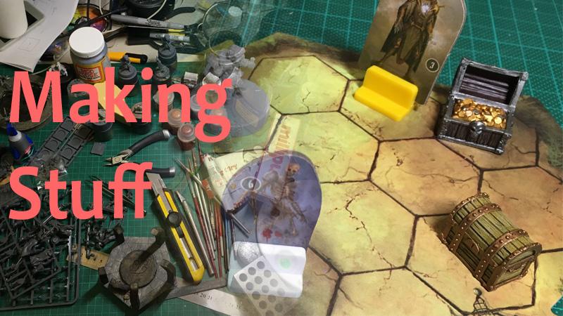 Making Gloomhaven Treasure Chests 34