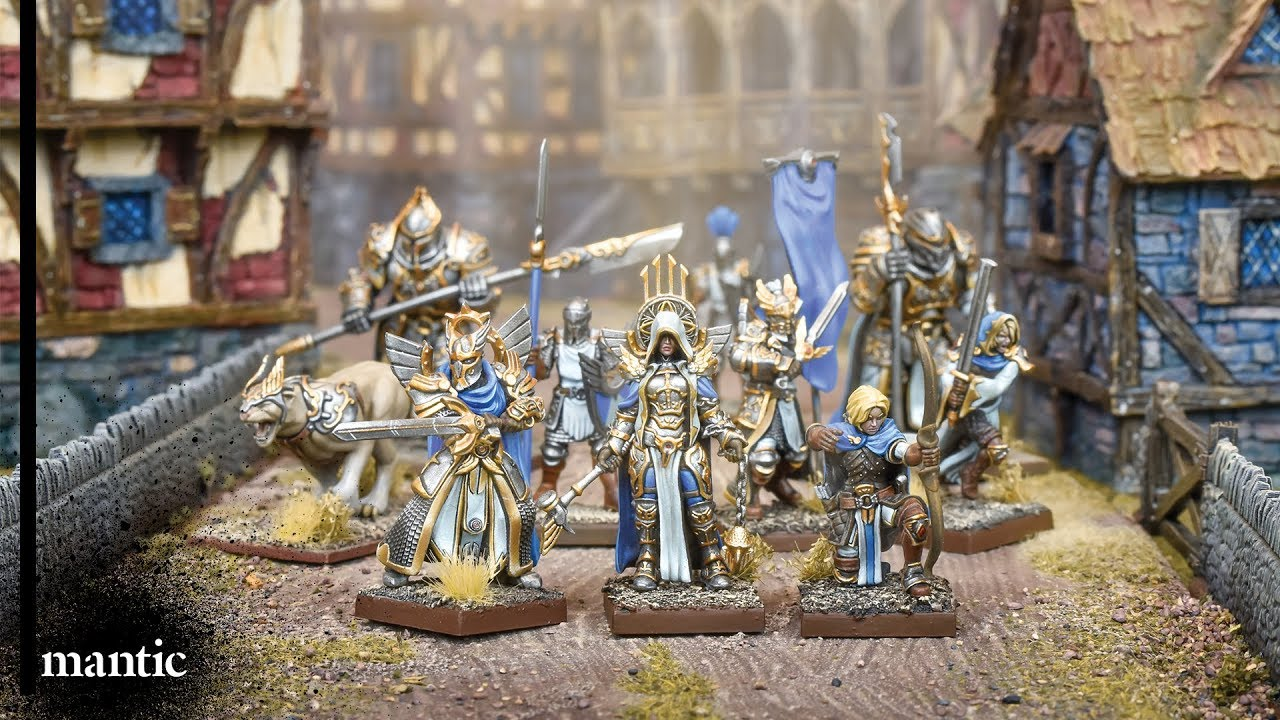 Assembling Kings of War Vanguard Basileans Warband Set 39