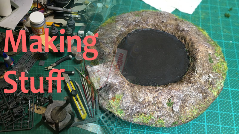 Making Pits and Craters 1