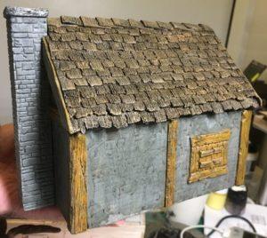 Making a 28mm Fantasy Cabin 9